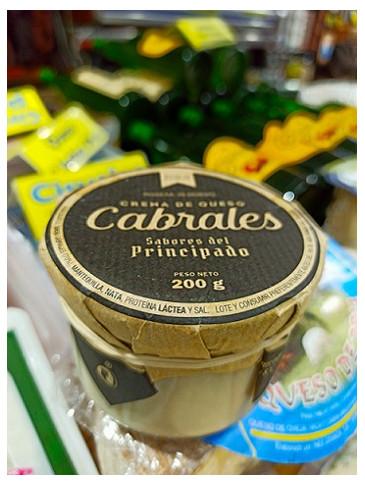 Crema de queso Cabrales